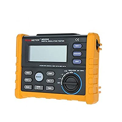 PEAKMETER PM5205 Digital Insulation Tester Resistance Meter Multimeter Megohmmeter Auto Power Off