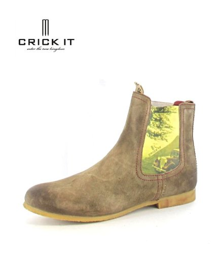 CRICK IT Chelsea Boot Cindy Military: : Schuhe