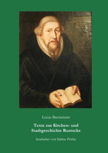 Lucas Bacmeister (German Edition)