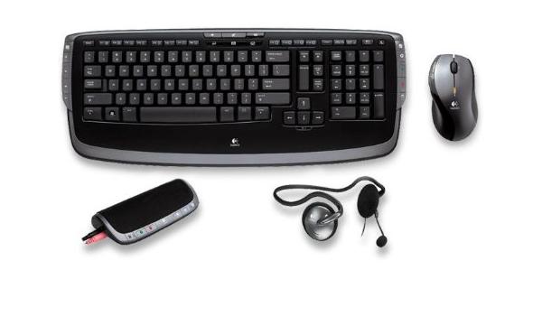 Logitech EasyCall Desktop - Teclado (RF inalámbrico, Laser ...