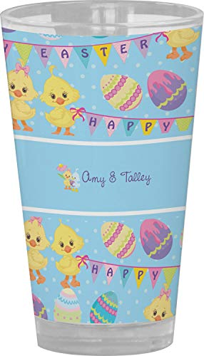 Happy Easter Drinking/Pint Glass (Personalized) from RNK Shops