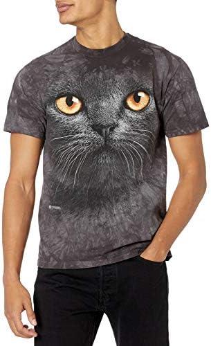 The Mountain Big Face Black Cat