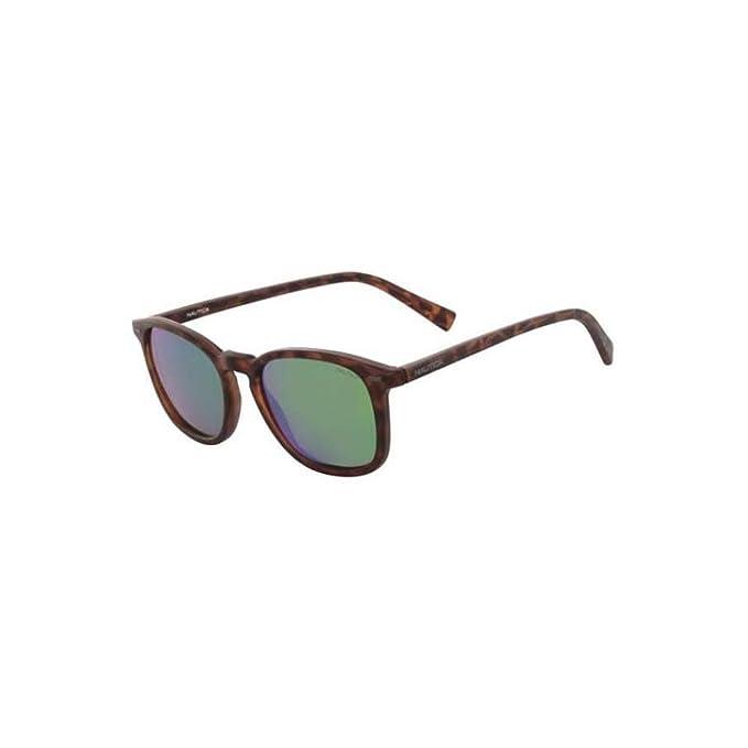 Nautica - Gafas de sol - para hombre Matte Dark Tortoise 52 ...