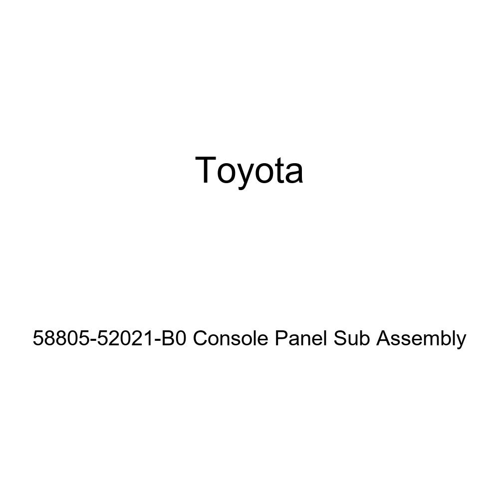 TOYOTA Genuine 58805-52021-B0 Console Panel Sub Assembly