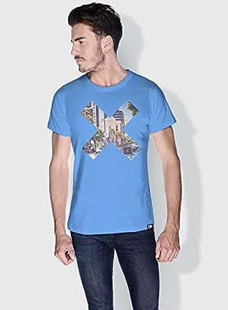 Creo La City X City Love T-Shirts For Men - S, Blue