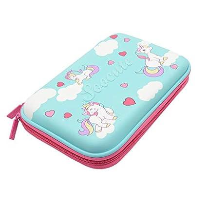Amazon.com : | Pencil Cases | Cake Pencil case Unicorn kalem kutusu ...