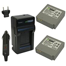 Wasabi Power Battery and Charger Kit for Samsung IA-BP85ST, HMX-H100, HMX-H104, HMX-H105, HMX-H106, SC-HMX10, SC-HMX20C, SC-MX10, SC-MX20, SMX-F30, SMX-F33, SMX-F34, VP-HMX08, VP-HMX10, VP-HMX10C, VP-HMX20C, VP-MX10, VP-MX20, VP-MX25
