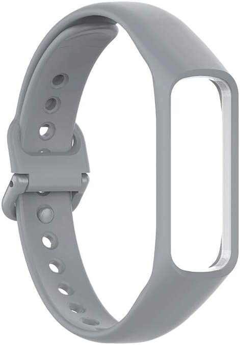 Malla Para Reloj Samsung Galaxy Fit 2 (silicona, gris)