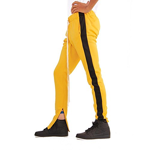 Yellow Ankle Pants - 4