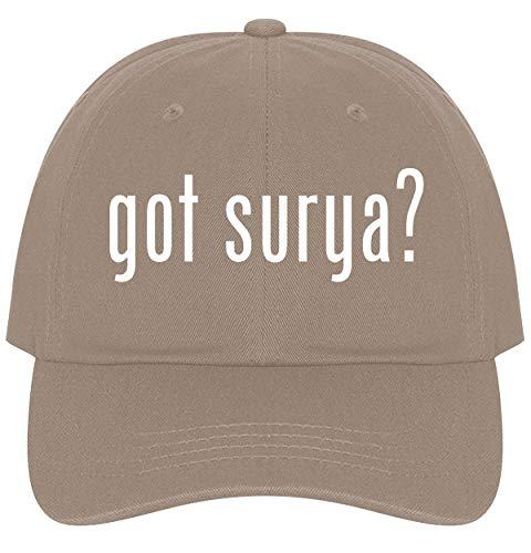 - got Surya? - A Nice Comfortable Adjustable Dad Hat Cap, Khaki