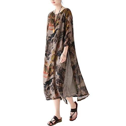 linen and silk dresses - 2