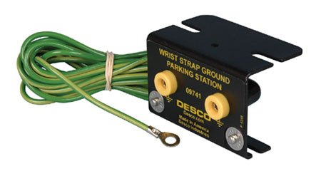 Wrist Strap Grounding Block by Desco