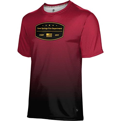 cheap ProSphere Boys' Cave Springs Fire Department Zoom Shirt (Apparel) for cheap