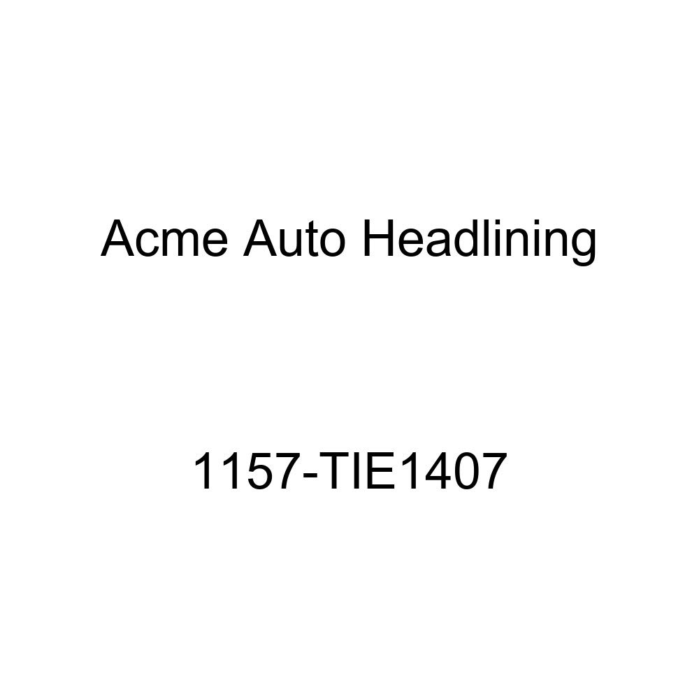 Acme Auto Headlining 1157-TIE1407 Dark Brown Replacement Headliner 1955 Buick Roadmaster /& Cadillac DeVille 2 Dr Hardtop 6 Bow, 3 Chrm