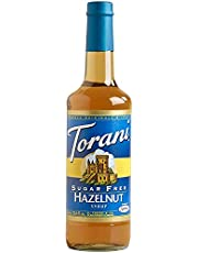 Torani Sugar Free Classic Hazelnut Syrup, 750ml