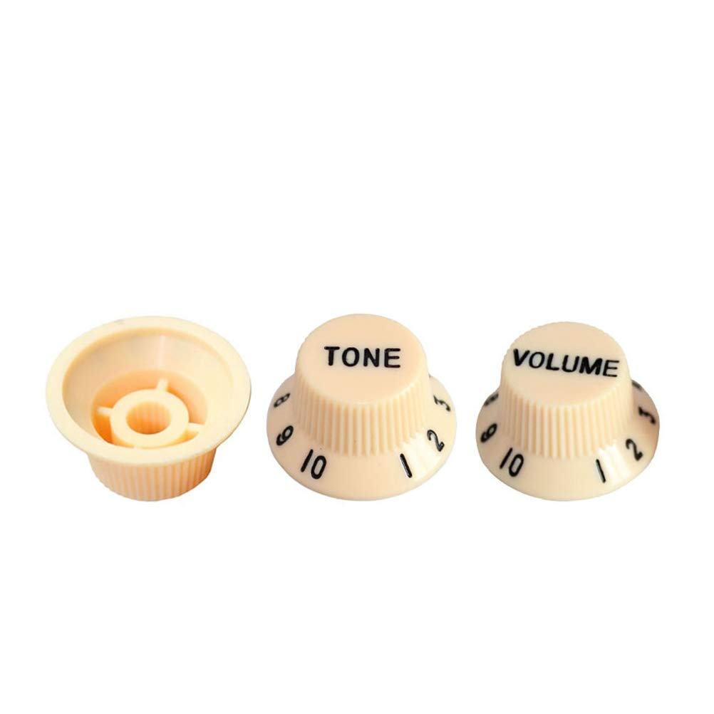 Healifty 3 Pcs Set Plastic Guitar Volume Tone Control Knobs Rotary Fenderr Forums O View Topic Strat For Every Pickup Fender
