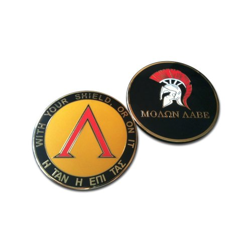 (BASTION Collection Hobby Challenge Coin (Molon Labe))
