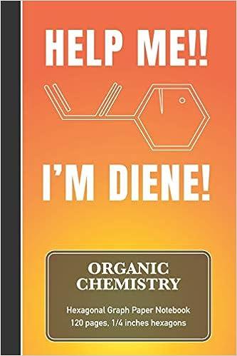 Amazon.com: Organic Chemistry Hexagonal Graph Paper Notebook ...