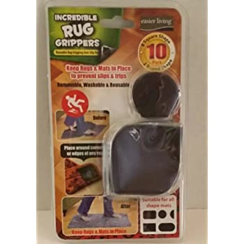 This Item Incredible Rug Grippers, 10 Piece Pack