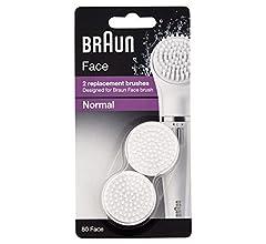 Braun Face 80-S - Paquete de 2 cepillos de repuesto, cepillo ...