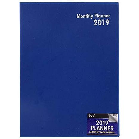 Amazon.com: 2019 Planificador, formato de página mensual ...