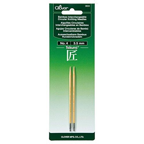 Aguja Circular Intercambiable Clover Takumi Bamboo  - 4