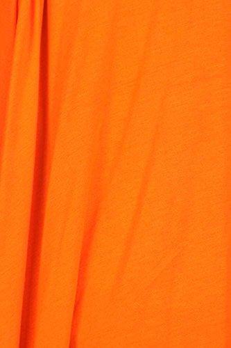 Frontale Lunga In s A Con Us Sconosciuto Lunga Manica Arancio Cardigan Collo Aperto Drappeggiato Made 1qPcxwEOxI