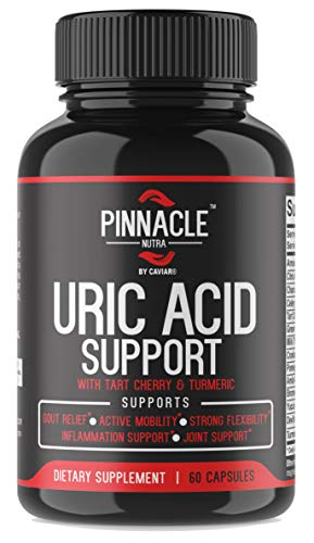 Uric Acid Cleanse Support - Tart Cherry Extract Capsules With Celery Seed Extract, Chanca Piedra, Citric Acid, Milk Thistle, Cranberry, Turmeric For Joint Support, Kidney Health & Healthy Inflammation