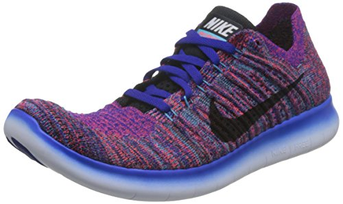 Nike Hommes Libre Rn Flyknit  Bleuclair Concord   Noirgmm Bleuclair  Cramoisi 86ca37