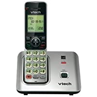 VTECS6619 - VTech CS6619 DECT 6.0 Expandable Cordless Phone with Caller ID/Call Waiting, Silver with 1 Handset