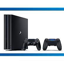 Playstation 4 Pro 1TB Console + DualShock 4 Black Wireless Controller + NBA 2k17 Bundle ( 3 - Items )