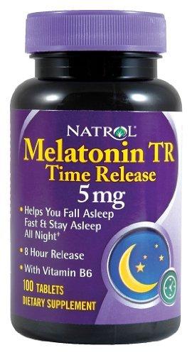 Natrol - Melatonin temps presse, 5 mg, 100 comprimés