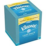 Health & Personal Care : Kleenex Cool Touch Facial Tissue (One Box of 50 Tissues)