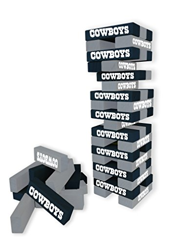 Wild Sports NFL Dallas Cowboys Table Top Stackers Game