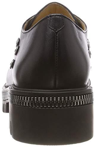 298 Fersengold 001 Femme 472 Noir Schwarz Derbys rCdpwqr