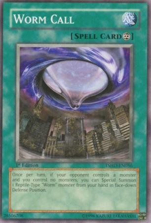 Yu-Gi-Oh! - Worm Call (TSHD-EN056) - The Shining Darkness - 1st Edition - Common