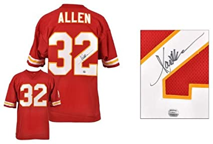 marcus allen signed chiefs jersey