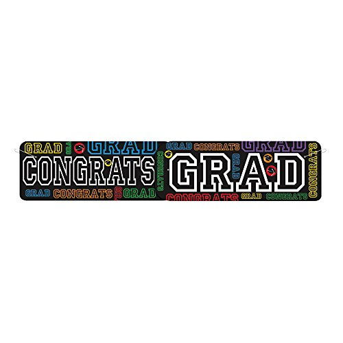 4 5ft Jointed Graduation Party Banner