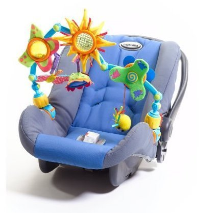 Game / Play Sunny Stroll Tiny Love Take-Along Arch, rattels, toy, baby, carseat, stroller, car, seat Toy / Child / Kid
