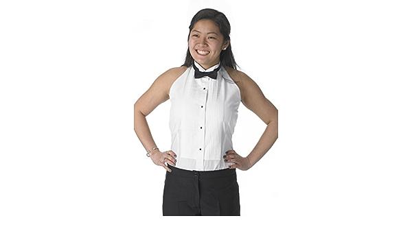 Henry Siegel - Camisa de Esmoquin para Mujer