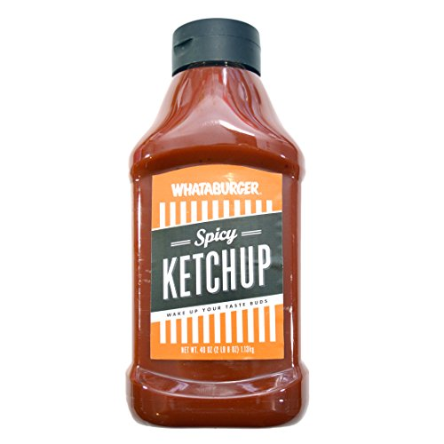 Whataburger Texas Size Spicy Ketchup 40 Oz Bottle