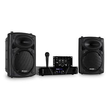 Ibiza DJ300MK2 Equipo de Sonido Disco AUX Mic: Amazon.es: Electrónica