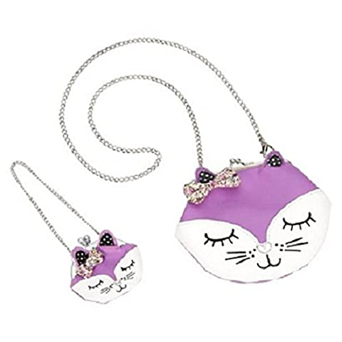 Our Generation Me and You Handbag Cat Coin Purse - Purse Doll Clothes