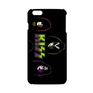 Rockband kiss 3D Phone For Case Iphone 6 4.7inch Cover