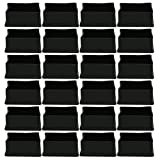 uxcell PVC Leg Caps Tips Feet Covers 40 x 60mm Inner Size 24pcs Furniture Floor Protector Reduce Noise Prevent Scratch for Sofa Table