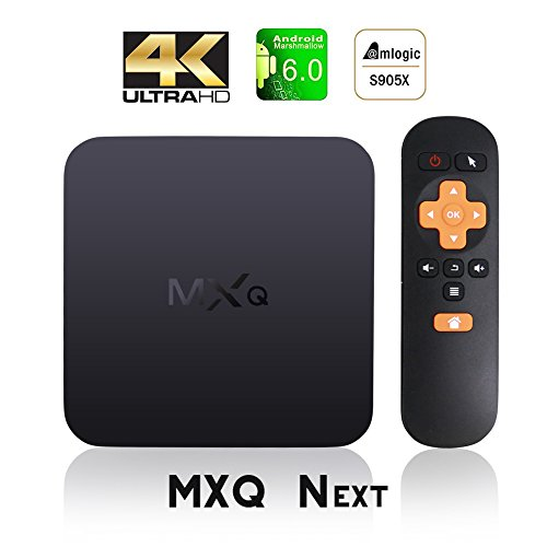[Updated] MXQ NEXT Android TV Box Amlogic S905X An…