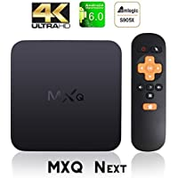 [Updated] MXQ NEXT Android TV Box Amlogic S905X Android 6.0 Marshmallow Quad Core 4K Google Smart TV BOX with WiFi HDMI DLNA