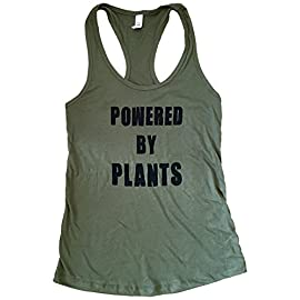 The-Bold-Bananas-Womens-Powered-By-Plants-Tank-Top