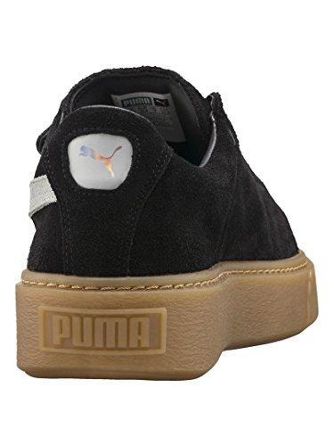 Platform Grigio Puma Nero 36 Wn's 03 Marrone 365224 Sneakers Strap Nero TqqX16d