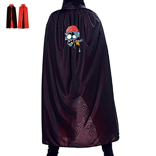 Blood Head Halloween Cloak Full Length Cape Dress Masquerade Adult Cosplay Costume
